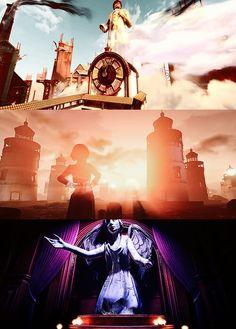 Bioshock Infinite Bioshock Game, Bioshock Series, Bioshock Infinite, Nice Photos, Nerd Stuff, Little Sisters, Big Ben, Columbia, Concept Art