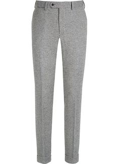 Suitsupply Pants : Inject some pep into your wardrobe and mix things up with our tailored pants and washed chinos with charm in its detailing. Best Pants For Men, Mens Dress Pants, Dress Shirts, Tailored Fashion, Grey Trousers, Casual Suit, Designer Clothes For Men, Fashion Pants, Men's Fashion