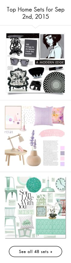 """Top Home Sets for Sep 2nd, 2015"" by polyvore ❤ liked on Polyvore featuring interior, interiors, interior design, home, home decor, interior decorating, Balmain, Ksubi, Sebastian Professional and Gandía Blasco"