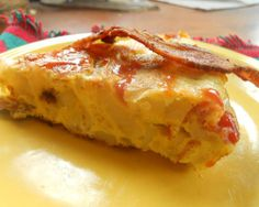 Spanish Omelets with Bacon