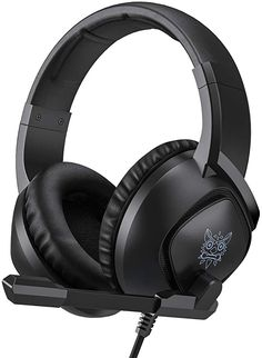 Gaming Headset for Xbox One, PS4,Nintendo Switch, PC with Mic - Surround Sound, Noise Reduction Game Earphone, Mute Switch- 3.5MM Jack for Cell Phone, Laptops, Computer (Black) Baby Registry Items, Gaming Headset, Noise Reduction, Baby Monitor, Surround Sound, Tech Gadgets, Xbox One, Laptops, Nintendo Switch