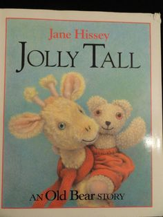 Items similar to Jolly Tall by Jane Hissey // Hardcover // First Edition // Out of Print on Etsy Good Books, My Books, My Children, Childhood Memories, Childhood Toys, Childrens Books, This Book, Giraffes, Friends