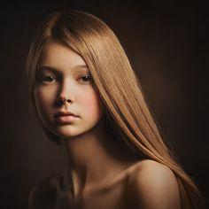 Teen | teen girl, cute, black background