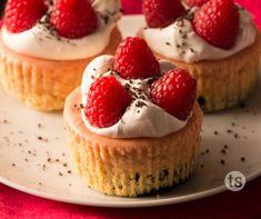 Raspberry Chocolate Mini Cheesecakes Recipe | Tastefully Simple | Elegant Dessert for Valentine's Day