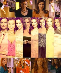 Bree Van de Kamp Seasons 1-8. The best TV character ever! Her and Olivia Pope of course.