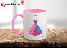 """Sleeping Beauty """"Make It Pink, Make It Blue"""" Coffee Mug"""