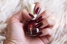 H & M beleza Purpleheart Pérola prego avaliação polonês