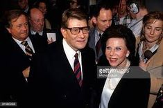 Yves Saint Laurent with mother Lucienne