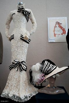 Haute Couture | Cecil Beaton. My Fair Lady Dress 1964 Audrey Hepburn's iconic Ascot dress