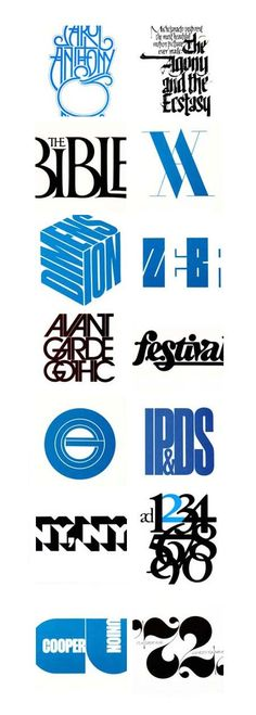 Herb Lubalin. Iconic typographer
