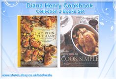 Diana Henry Cookbook Collection 2 Books Set. #CookbookCollection‬ #DietCollection‬ #DietBooks‬ #DianaHenry #DietBookCollection