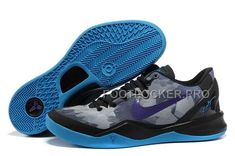 newest 8285d 2b37b 555035-711 Black Purple Blue Style Nike Zoom Kobe 8 (VIII) Factory Outlet