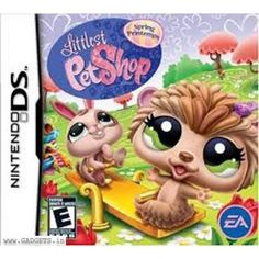 Littlest Pet Shop: Spring (Nintendo DS) Game Cartridge Only Really Fun Games, Cute Games, Mini Games, Things That Bounce, Cool Things To Buy, Video Game Collection, Nintendo Ds Lite, Nintendo Switch, Dog Games