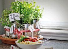 Fazer uma pequena horta na varanda também é uma boa pedida (Foto: Shutterstock)