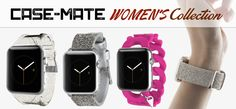 case-mate women's collection for apple watch band … … See more at Bestapplewatchcase.com … … #applewatch #iwatch #applewatchband #apple #watch #wearable #watchbands