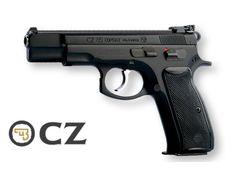 "CZ 85 Combat Pistol, 9mm, 10 Round, 4.4"" Barrel, Ambidextrous, Adjustable Sights, PFA12100"