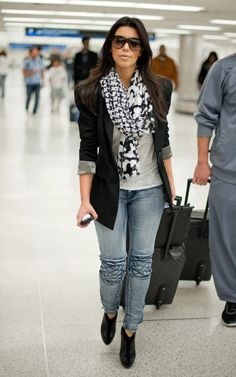 I may not be the biggest Kim K fan... but i do love her style!
