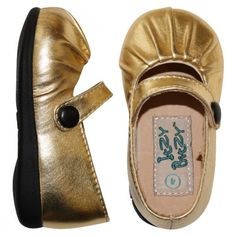 Itzy Bitzy Squeaky Shoes- Perfect for toddlers learning to walk.  the squeaks may drive you a bit bonkers though.