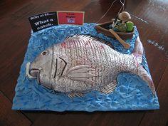 The Big Catch Fish Cake - 60th Birthday Cake