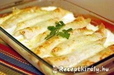 Palacsinta csirkés raguval töltve | Receptkirály.hu