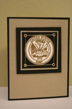 U.S. Army Congratulations Card by airbornewife - Cards and Paper Crafts at Splitcoaststampers