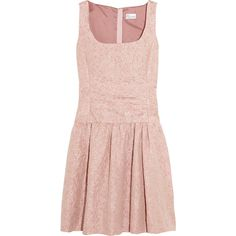RED Valentino Jacquard dress ($650) ❤ liked on Polyvore