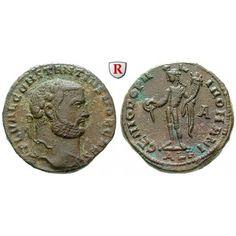 Römische Kaiserzeit, Constantius I., Caesar, Follis 297-298, f.vz: Constantius I., Caesar 293-305. AE-Follis 25 mm 297-298… #coins