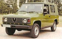 1985 ALFA ROMEO MATTA ll (PROJECT AR148) MILITARY PROTOTYPE Maintenance/restoration of old/vintage vehicles: the material for new cogs/casters/gears/pads could be cast polyamide which I (Cast polyamide) can produce. My contact: tatjana.alic@windowslive.com