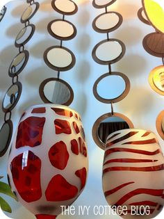 unique crafts for home decor: knock off, z gallerie mirror art tutorial | make handmade, crochet, craft