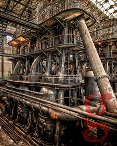 factory / machine / rust / old
