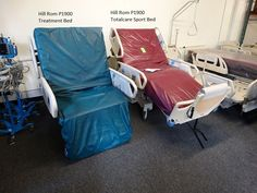 air mattress hospital bed sits in chair position totalcare p1900 treatment bed