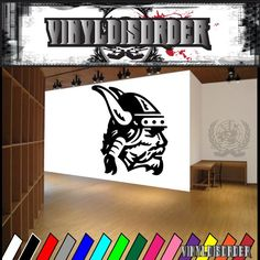 Viking Warrior Wall Decal Vinyl Decal Car Decal DC - Back window stickers for trucksamazoncom ragnar lothbrok vikings rear window decal graphic