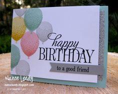 http://nanceleedy.blogspot.com/Balloon Celebration in rty, So Saffron, Blushing Bride and Smoky Slate.