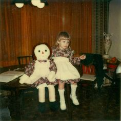 The doll also changed rooms by itself. We came home one night and the Annabelle doll was sitting in a chair by the front door. It was kneeli...