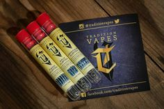 """From our friend @vapingroybot home boy is the man. Make sure to check out his juice line @roybotsauce some great stuff.  """"@traditionvapes always helping to keep my atties on point."""" #traditionvapes #vapeporn"""