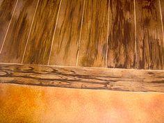 Concrete Floors San Antonio - Innovative Floors That Look Like Wood - The Concrete Network