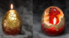 Add Dragons To Your Dinosaur Army With This Hatching Egg Candle