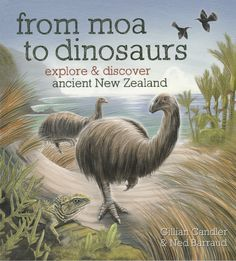 Explore Discover Ancient New Zealand By Gillian Candler Ned Barraud