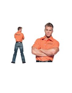 Now available from Bargains Delivered!  Orange Prisoner S... at http://www.bargainsdelivered.com/products/orange-prisoner-shirt-xl?utm_campaign=social_autopilot&utm_source=pin&utm_medium=pin