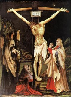 : The Crucifixion by : Matthias Grunewald