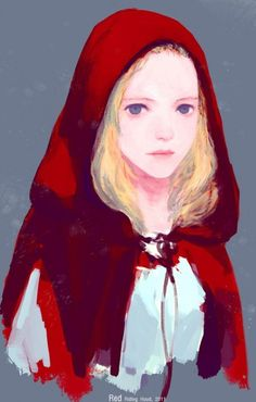 Red Riding Hood, 2011  by hoo835 (artforadults.tumbler.com)