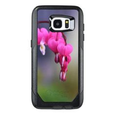 Bleeding Heart Flower OtterBox Samsung Galaxy S7 Edge Case - pink gifts style ideas cyo unique