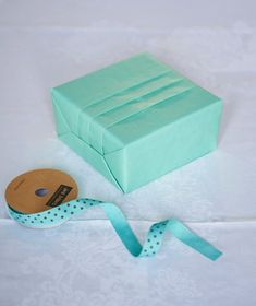 How to make gift wrap. Wrapping A Box With Japanese Pleats - Step 11