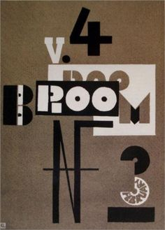 Cover of Broom - El Lissitzky