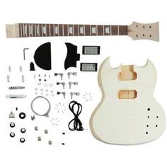 Unfinished Electric Guitar Kit. Customize and Build Your Own Sg Guitar, I want!