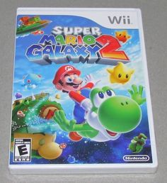 Super Mario Galaxy 2 Platform: Nintendo Wii Game is Brand New, Factory Sealed! There's a tear in the shrink wrap. We ship Fast! All orders ship same o... #factory #sealed #brand #nintendo #mario #galaxy #super