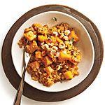 """Farrotto"" with Butternut, Gruyere, and Hazelnuts Recipe | MyRecipes.com"