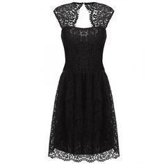 Women Ladies Sexy Sleeveless Sundress Lace Floral Hollow Out Party Banquet Slim Calf Dress