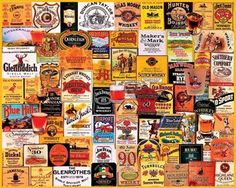 Great Whiskies Jigsaw Puzzle - 1000 Pieces