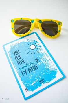4 Free Sunglasses Valentine Printables for kids. Perfect for preschoolers, kindergarteners and anyone who would like this retro California fun look! Valentines For Kids, Valentine Day Crafts, Open When Cards, Printable Cards, Printables, Free Printable, Staff Gifts, Valentine's Cards For Kids, Teacher Cards